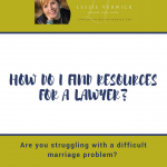 How Do I Find Resources For A Lawyer?