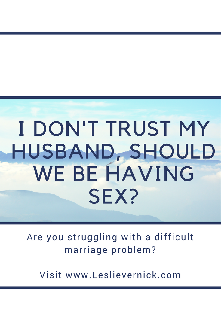 my husband wont have sex