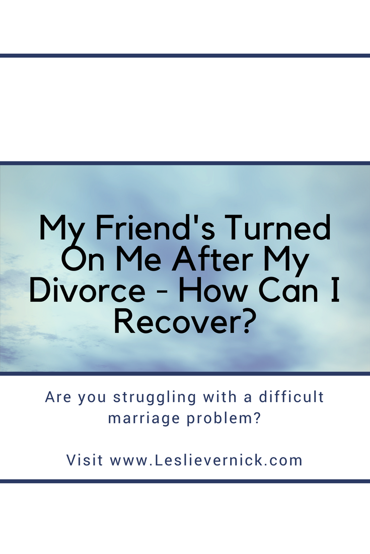 How to stay friends after a divorce
