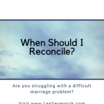 When Should I Reconcile?