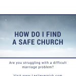 How do I Find A Safe Church