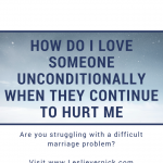 How Do I Love My In-Laws Unconditionally When They Still Hurt Me