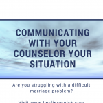 A Counselor Has Some Questions