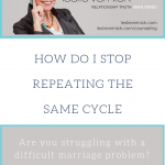 How Do I Stop Repeating The Same Cycle